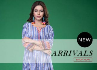 Lawn Designer Dresses By Thredz – New Arrivals 7